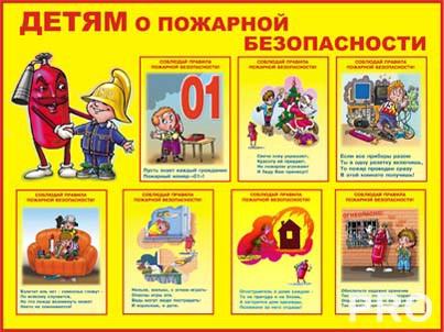 Как нарисовать рисунок на тему пожарной безопасности в детский сад?